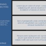 flat eLearning design