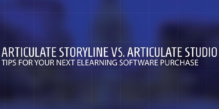 Articulate Storyline vs. Articulate Studio