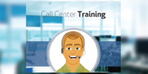 call center training in articulate storyline