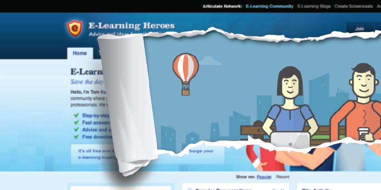 New Articulate E-Learning Heroes Community