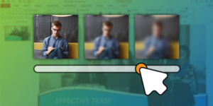 blur an image in powerpoint