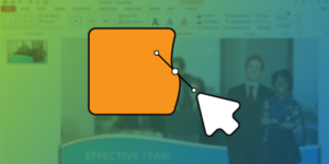 custom shapes in PowerPoint