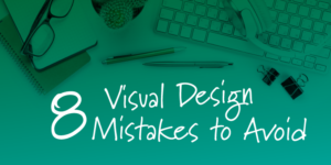 visual design mistakes to avoid when designing eLearning by tim slade