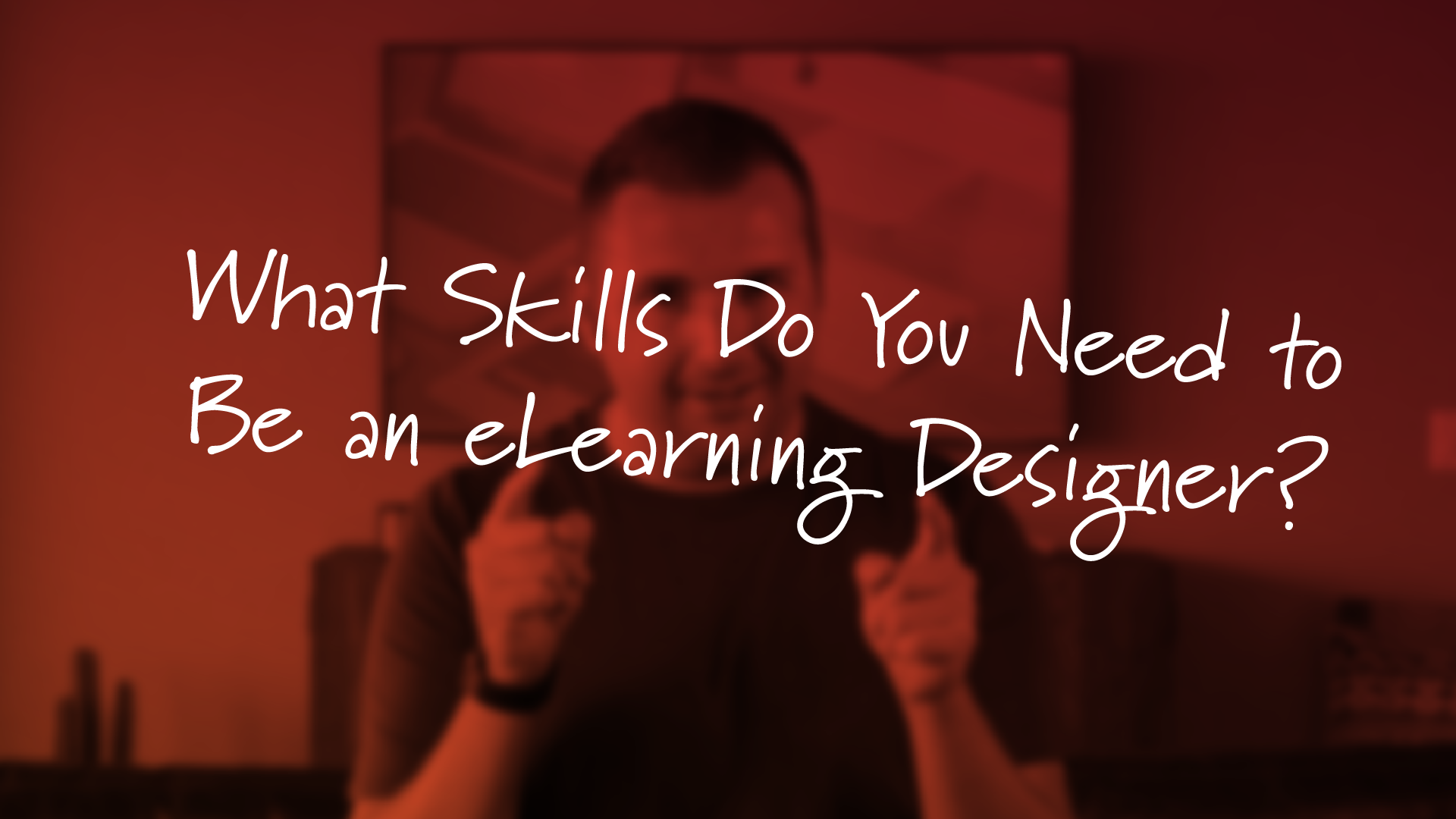 what skills do you need to be an eLearning designer by tim slade
