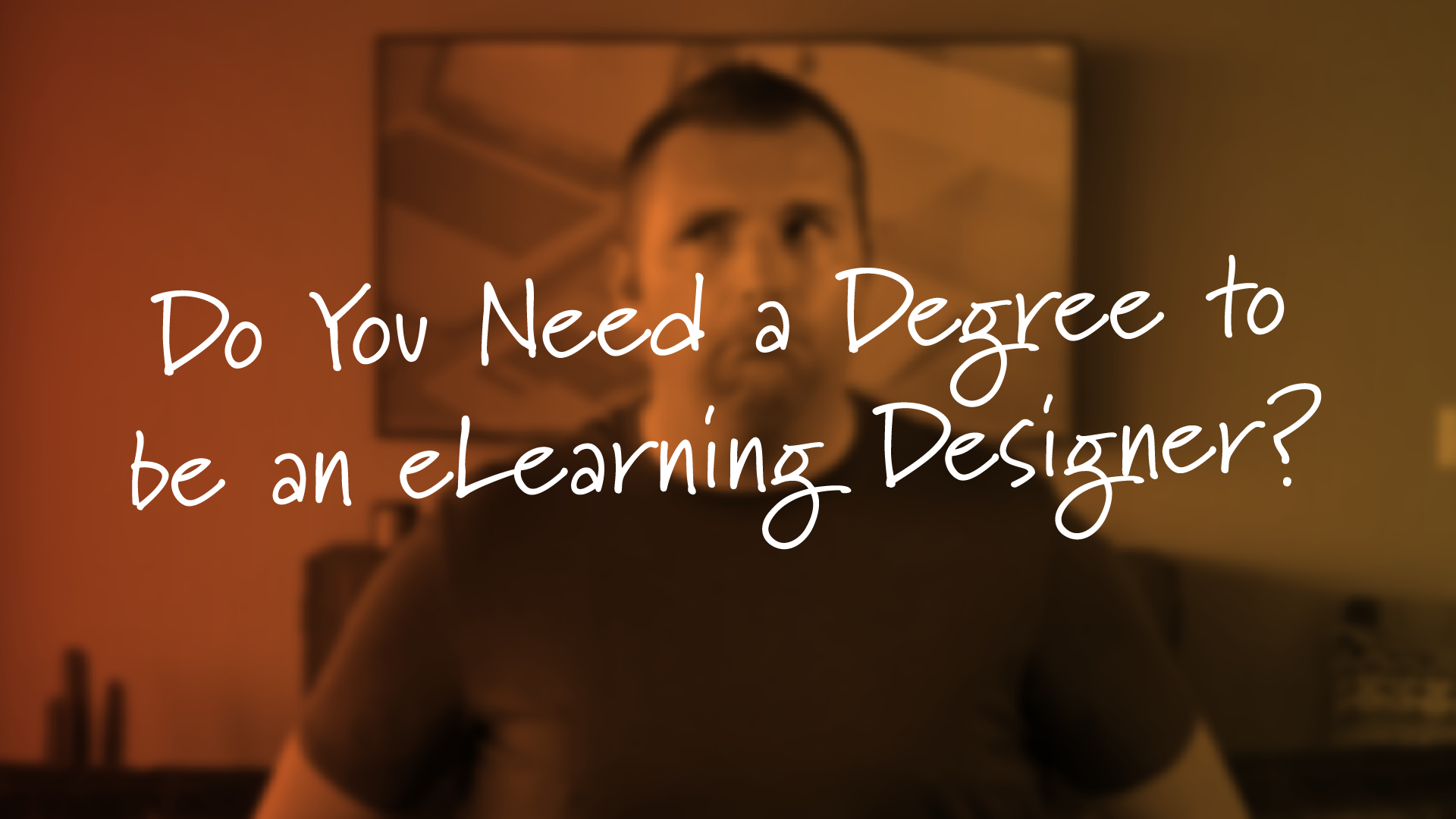 Do You Need a Degree in eLearning to Be an eLearning Designer?