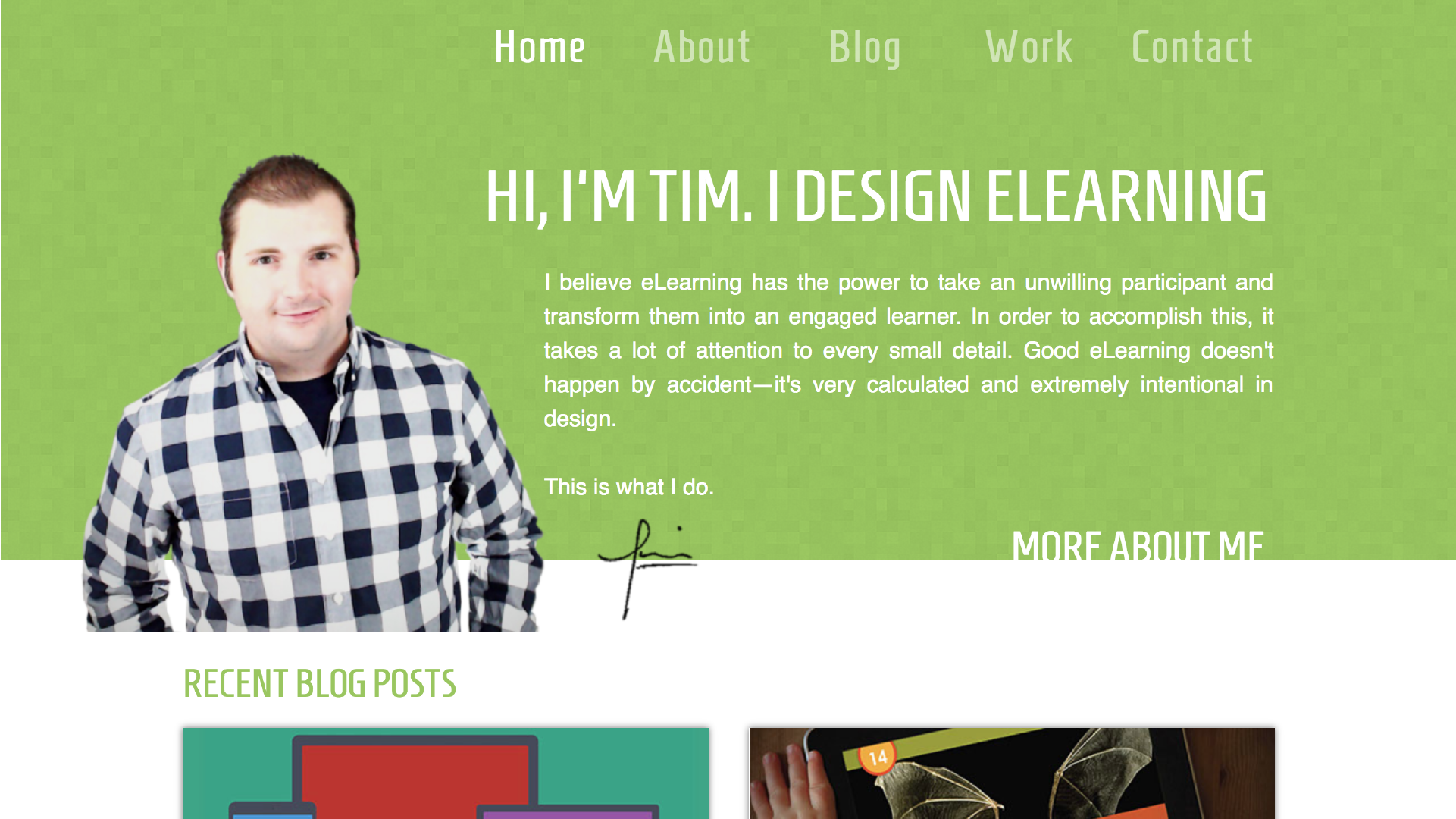 A New Year & A New Look to TimSlade.com Tim Slade custom eLearning development and design, eLearning workshops and training, eLearning consulting and coaching