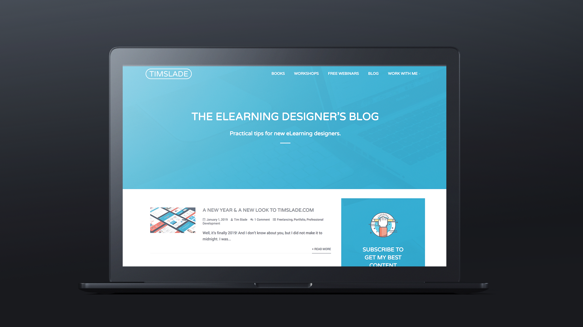 Successful eLearning Career, Tim Slade, custom eLearning development and design, eLearning workshops and training, eLearning consulting and coaching