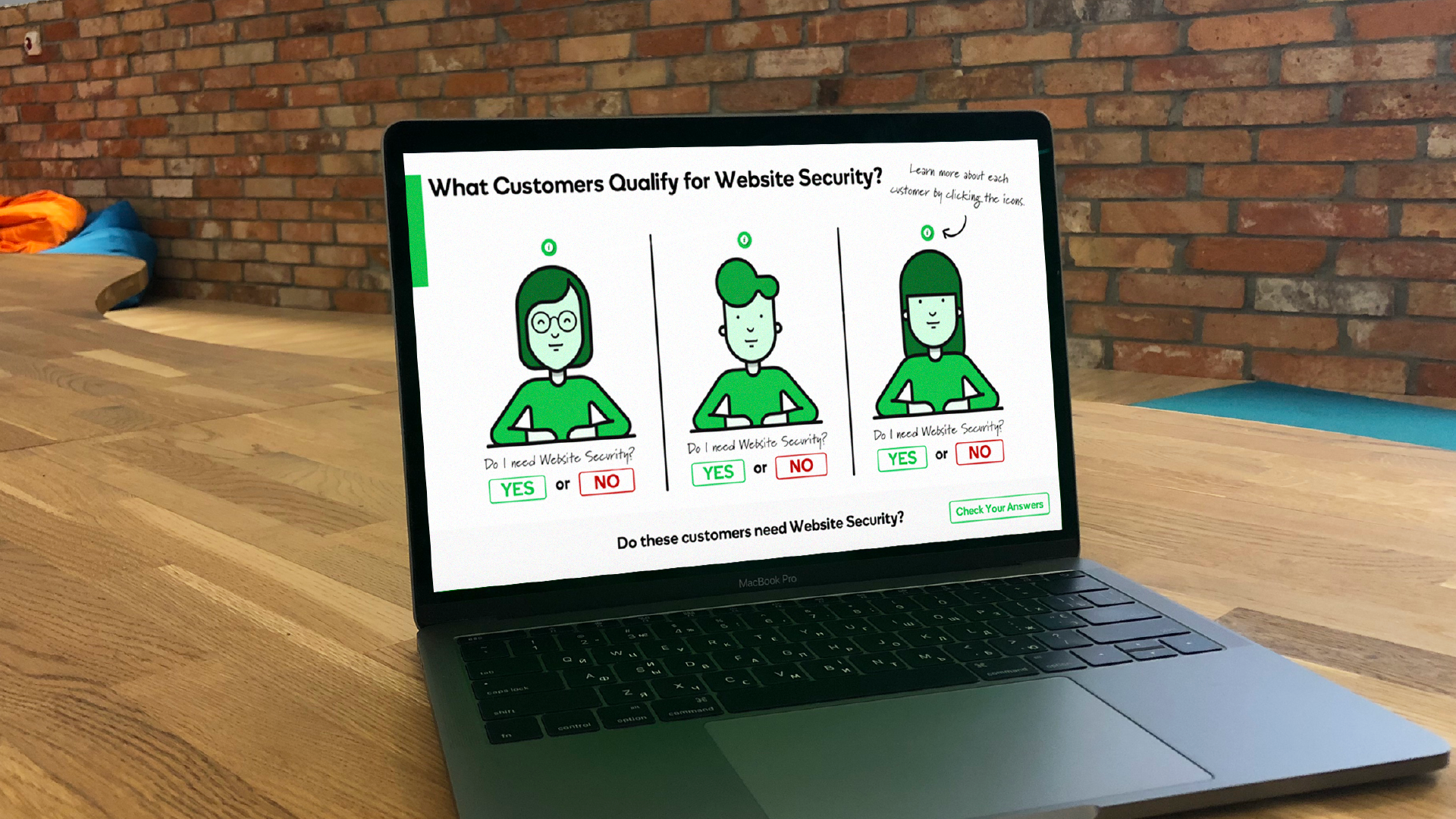 Tim Slade's eLearning Portfolio | GoDaddy Website Security eLearning | Custom eLearning Development & Design