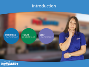 Tim Slade's eLearning Portfolio | PetSmart Leadership Success eLearning | Custom eLearning Development & Design