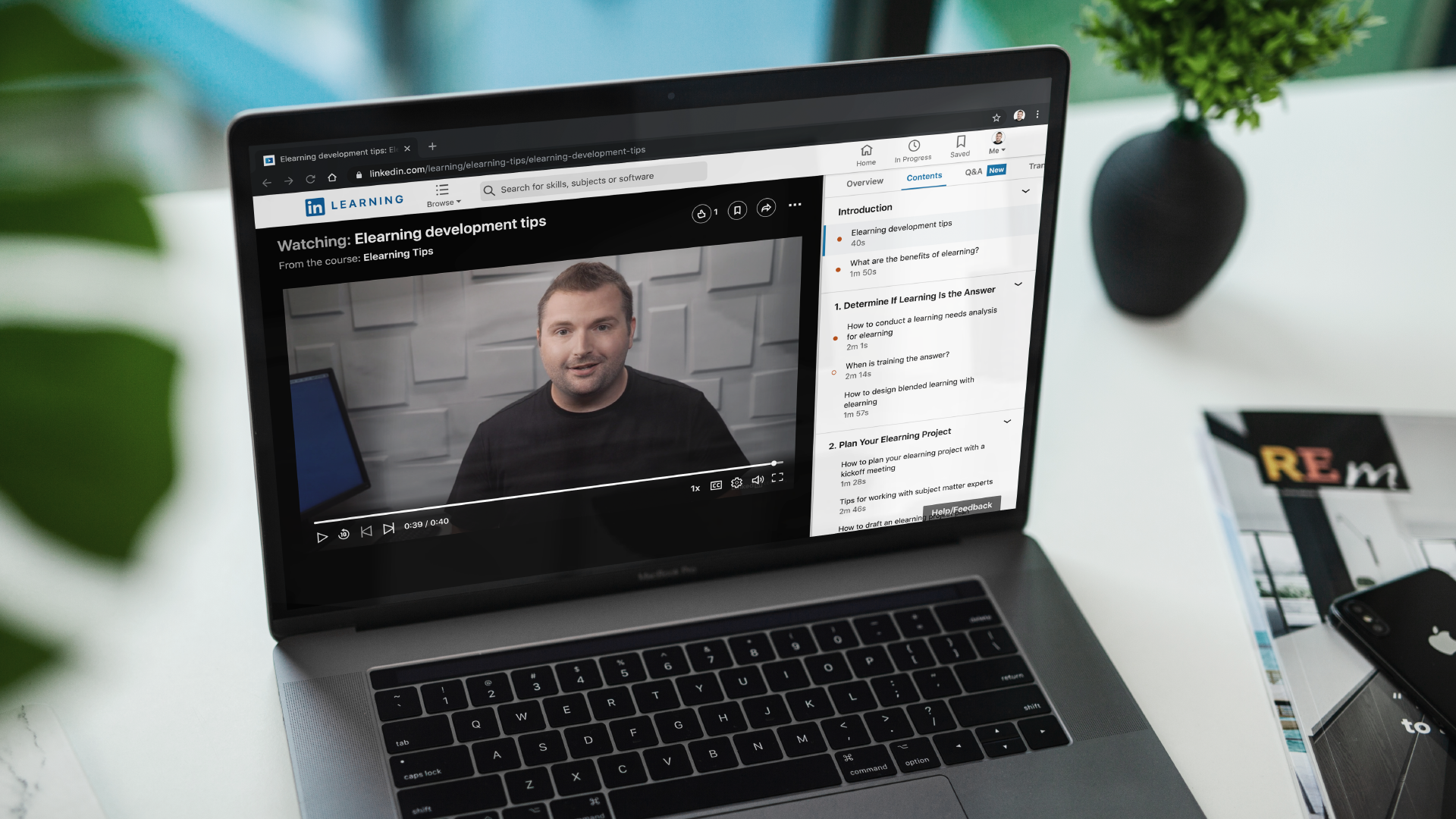 Check out my latest LinkedIn Learning Course: eLearning Tips by Tim Slade | eLearning Blog